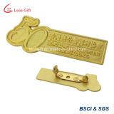 금속 물자 주문 접어젖힌 옷깃 Pin