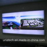 LED-bekanntmachende Media-Aluminiumfahnen-heller Kasten-Schild