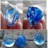 Decor와 정원을%s 불규칙한 Sea Blue Glass Bead