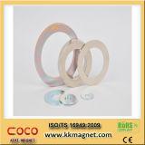 De Magneet van de ring met Groot Gat, Permanente Magneet, de Turbine van de Wind van de Magneet van het Neodymium N35, N38, N40, N42, N45, N48, N50, N52