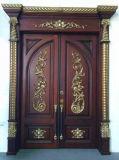 一義的な固体木のドア