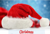 Cappello molle del Babbo Natale della decorazione di natale di vendita di alta qualità della fabbrica migliore