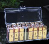 Freier Acrylverfassungs-Kasten/Lippenstift-Kasten