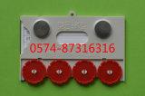 K 10*6.5cmに番号を用いる磁気物質的なカード記憶のカードの倉庫のカードをタイプしなさい