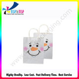 White ecologico Kraft Paper Bag con Handle