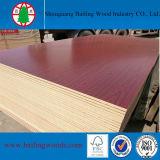 Cherry 또는 Titanium 빨간 White/Mahogany/Sapele Veneer Melamine MDF