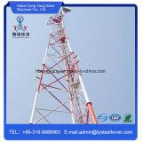 삼각형 격자 강철 통신 탑이 35m에 의하여 직류 전기를 통했다