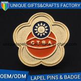 La fabbrica del distintivo di Relaible Cina accetta i distintivi del metallo dell'OEM