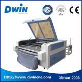 Tissu alimentant automatique du CO2 90W prix en bois de machine de découpage de laser