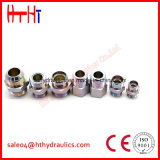 macho métrico de 1CB-Wd 1dB-Wd 24 adaptadores hidráulicos do selo prisioneiro de /Bsp do cone do grau do Manufactory hidráulico do adaptador de China