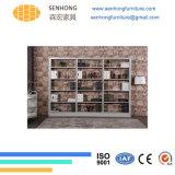 Links-91 de tweezijdige Boekenkast van het Staal voor de Boekenplank van de Bibliotheek