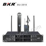 Système sans fil Bu-3818 de microphone des huit Manche