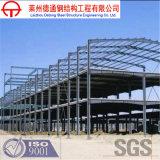 Экономично и функционально, Q235/Q345b покрасило или гальванизировало здание стальной структуры луча h