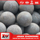 2016発電所および鉱山およびセメントのプラントのための熱い販売の鍛造材の粉砕の鋼球