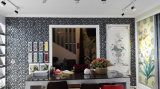 Mosaico di vetro con Mixed di ceramica per la cucina (CST211)