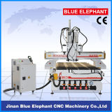 Ele-1325 Nk105 손잡이 시스템 가구 만들기를 위한 압축 공기를 넣은 다중 스핀들 CNC 대패 기계