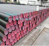 Tubo del PE de la alta calidad de Dn50 Pn0.7 PE100 para el suministro de gas