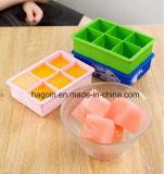 Nahrungsmittelsicheres Silikon-Eis-Würfel-Tellersegment 100%