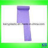 Sacchetti di plastica delle borse dell'HDPE per l'acquisto sul rullo