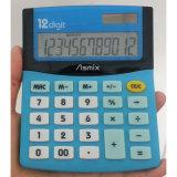 12 dígitos se doblan la calculadora de escritorio de la potencia (LC209)