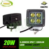 20W 3.2inch CREE IP67 nicht für den Straßenverkehr LED Arbeits-Licht für LKW