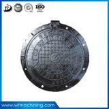 Coperchio di botola duttile rotondo resistente della fonderia di ferro dell'OEM per drenaggio