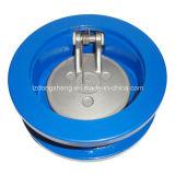 Tipo única válvula da bolacha de Lron do molde de verificação do balanço do disco