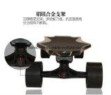 Patín eléctrico del carbón del ego de la fibra 4 del motor dual elegante de la rueda