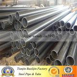 aislante de tubo de acero negro 2 1/2'x1.8m m redondo