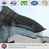 Exposition hall préfabriquée de structure métallique