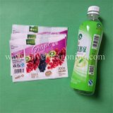 Etiqueta do Shrink do calor do PVC para o frasco da bebida