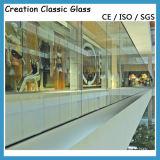 柵および建物に使用する緩和されたガラス