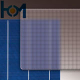 3.2mm Patterned Arc Low Iron Solar Panel Glass