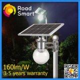 4W cinque anni di garanzia, certificazione autorevole, integrazione intelligente degli indicatori luminosi solari del giardino