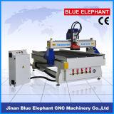 Máquina para corte de metales del ranurador eléctrico del CNC del surtidor del oro Ele-1325 con el sistema de enfriamiento de la niebla