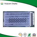7セグメント反射LCDモノクロ表示灰色