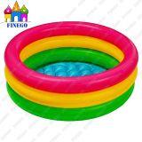 Piscina inflable colorida del PVC de los cabritos