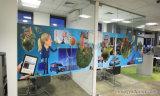 Autoadesivo di Auto-Adheaive della parete di vetro/finestra dell'ufficio di Indoor Digital Printing Company