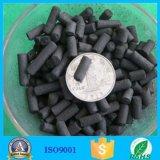 Cilindrische Geactiveerde Koolstof voor het Adsorbens van het Gas van het Afval