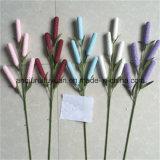La decorazione di festa con i fiori artificiali