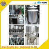 Fertigkeitpub-Bier-Geschäfts-erforderliches Bierbrauen-Gerät 7 Zylinder-schlüsselfertige Brauensysteme