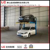 Garagem mecânica e estereoscopicamente