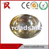Vente d'usine goujon en verre solaire Tempered r3fléchissant de route de 360 degrés