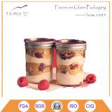 Tarros de cristal del alimento al por mayor con las tapas