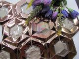 Mosaico de cristal do aço inoxidável de face de espelho da mistura da forma do hexágono (CFM1026)