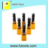 Cortador de trituração da espuma das flautas do carboneto de tungstênio 2/4