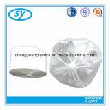 Saco liso plástico impresso transparente do HDPE para o alimento