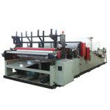 Machine complètement automatique de rebobinage de papier de toilette de Coreless de noyau (XY-TQ-1575B)