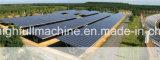 Rullo solare della parentesi montato terra di HDG Q235B precedente