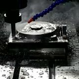 CNCの製粉回転